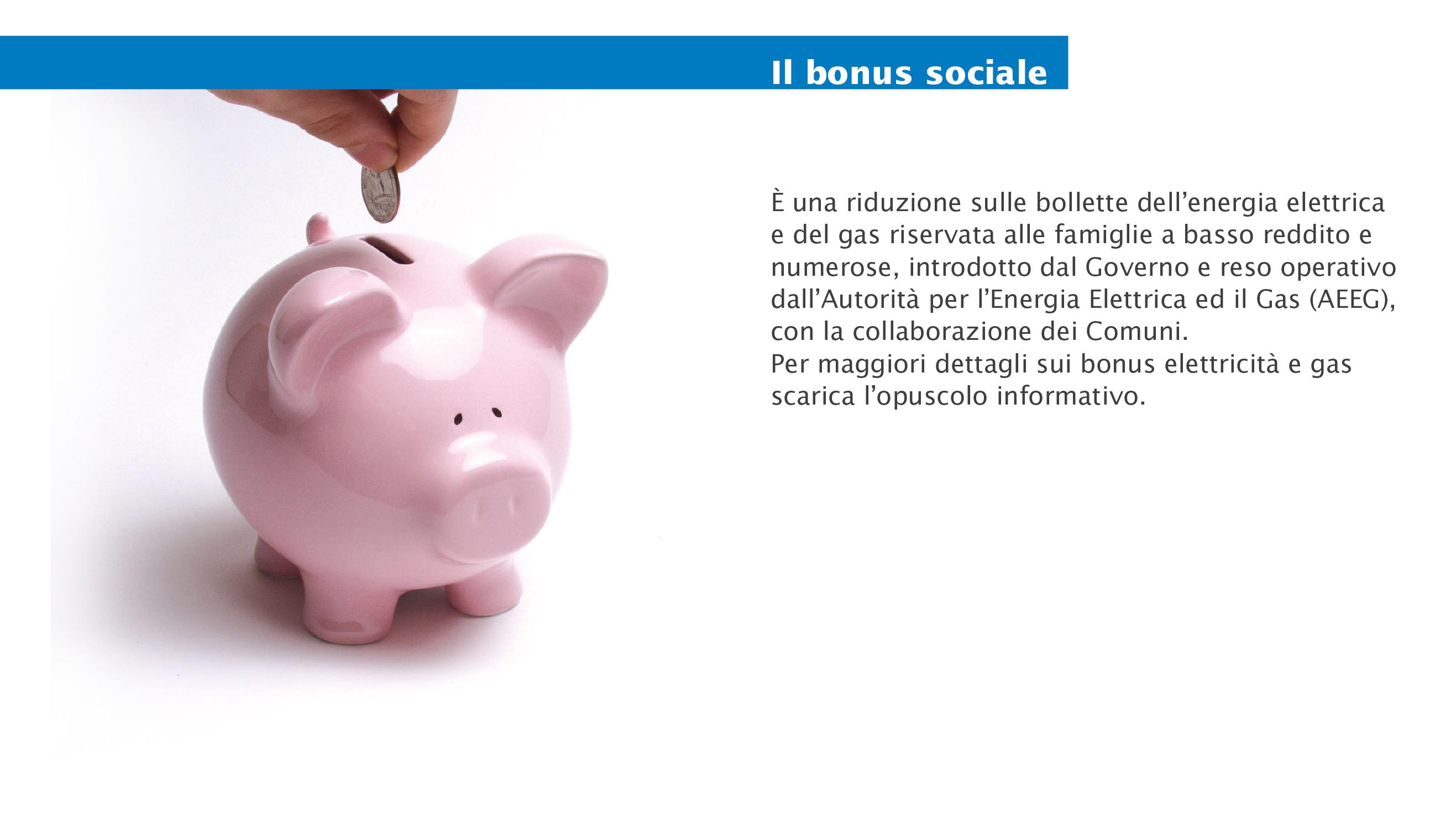 bonus sociale